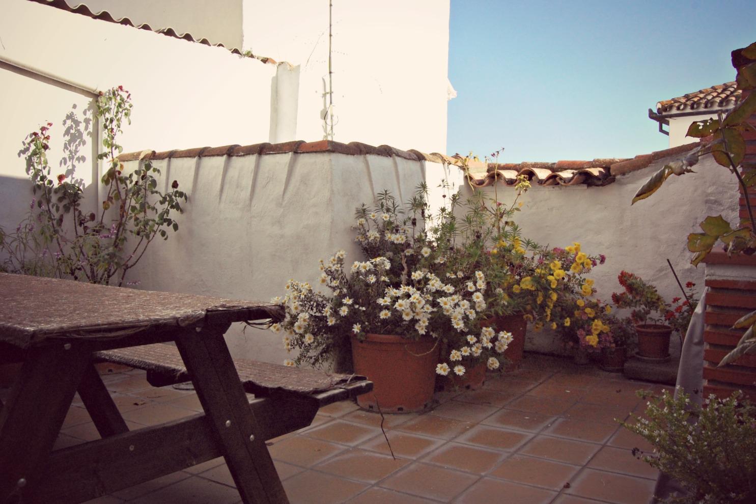 Casa Rural Puerta Verde, patio