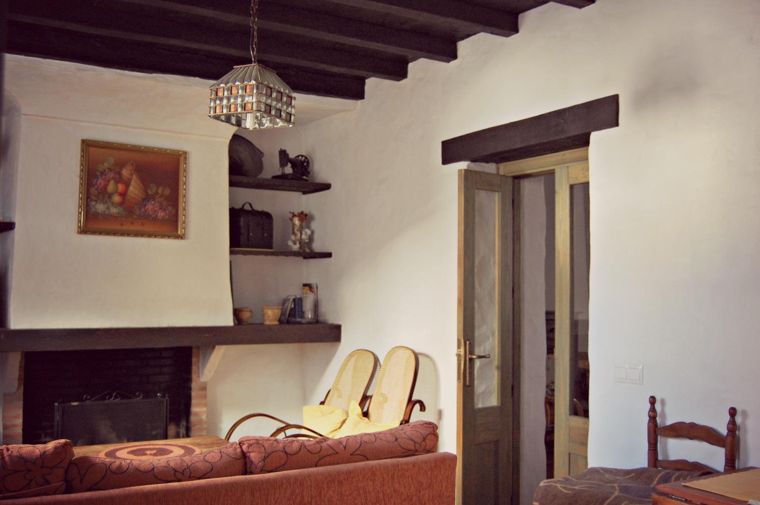 Casa Rural Puerta Verde, salón