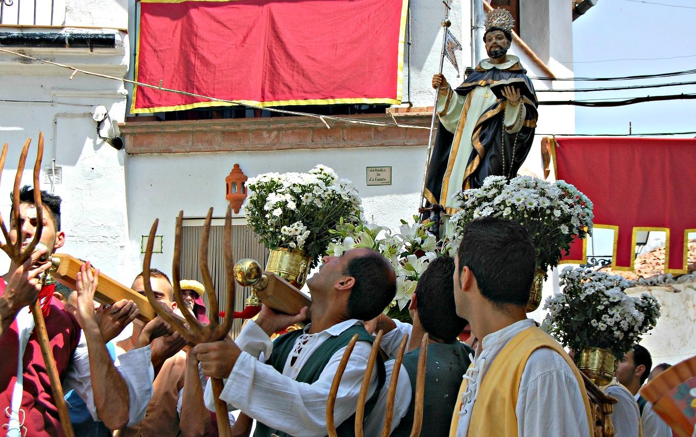 Fiesta Moros y cristianos en Benalauría